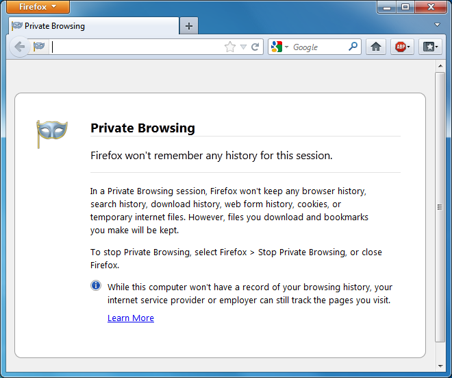 Private Browsing by PortableApps com 5 0 free download - Software