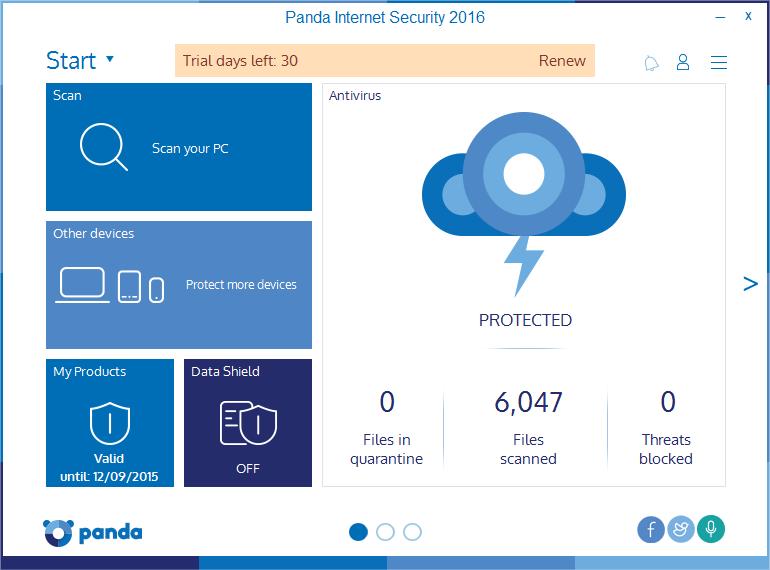 Panda internet security 17.0