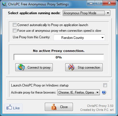 chrispc anonymous proxy gratuit