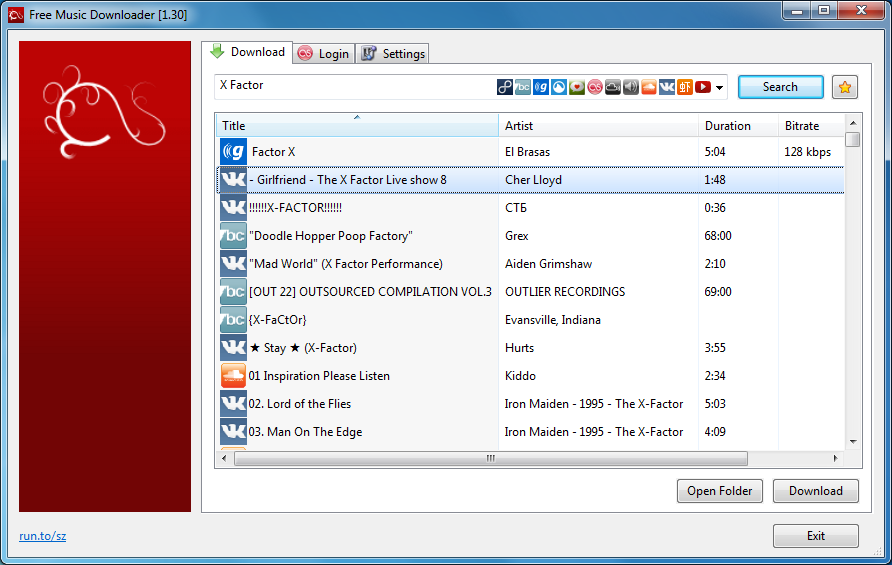 Free Music Downloader 1 30 free download - Software reviews