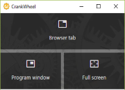 CrankWheel for Chrome
