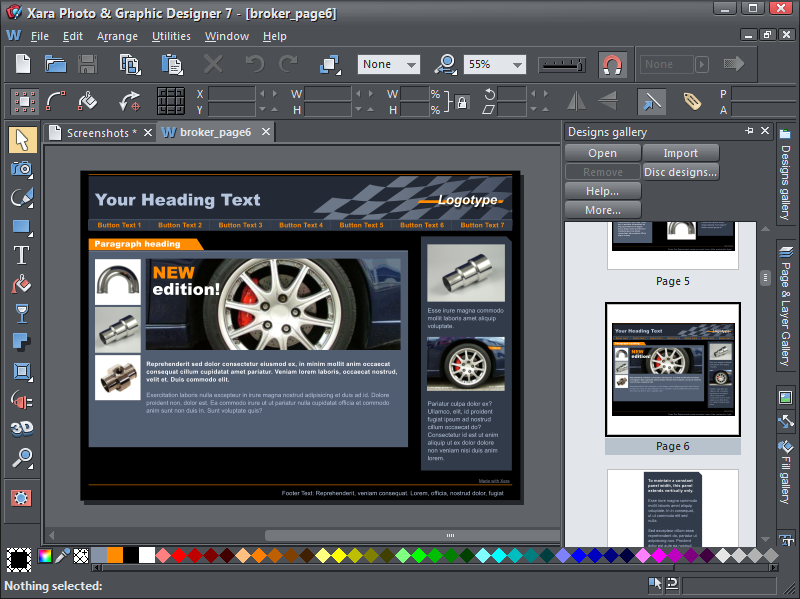 Pc Tech Authority Software Store Xara Designer Pro 7 10 Off Rrp