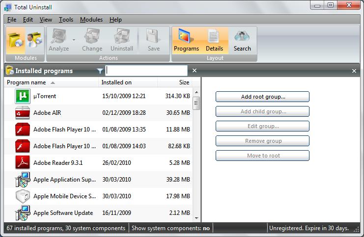 Total uninstall 5 professional | software downloads | techworld.