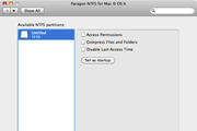 Paragon NTFS for Mac OS X 11