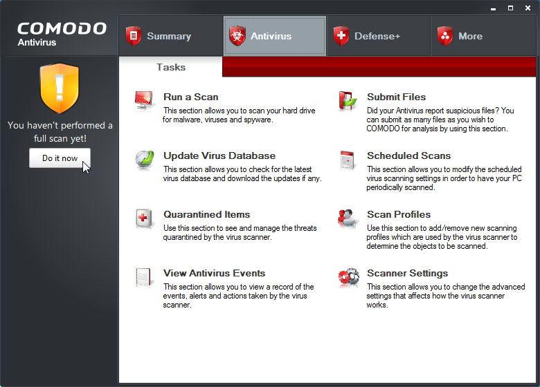 Free comodo antivirus software for windows 7.