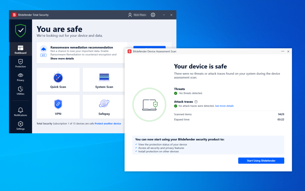 bitdefender antivirus 2019 free download