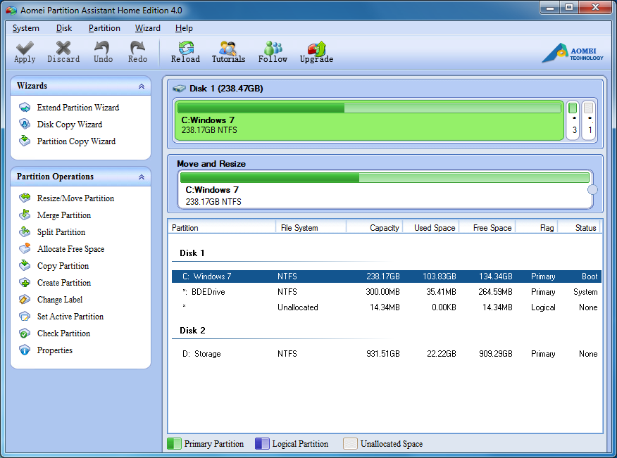 Easeus partition master free 13. 0 | software downloads | techworld.