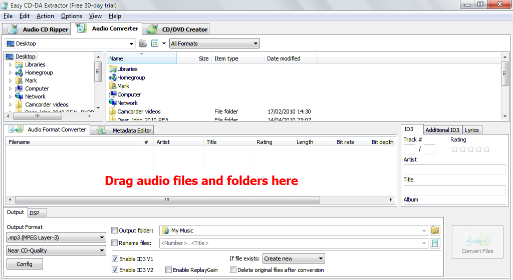 Easy CD-DA Extractor 16.0.3 free download - Software reviews ... Rip, convert and edit your music collection with Easy CD-DA Extractor