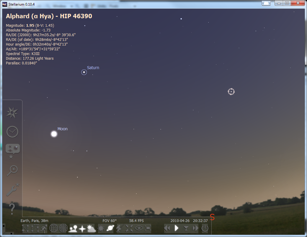 Stellarium 0 15 1 1 Free Download Software Reviews Downloads