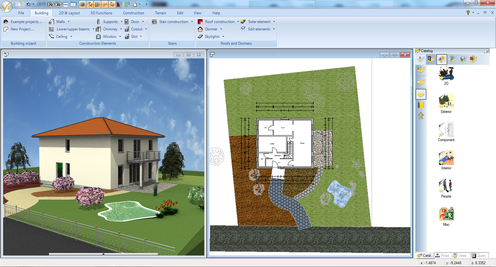 Ashampoo 3d Cad Architecture 5 Design One Room Or An Entire Mansion Plus Gardens With This Powerful Tool