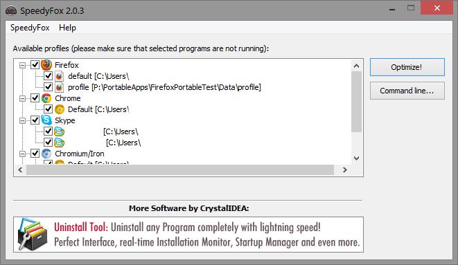 SpeedyFox 2 0 26 free download - Software reviews, downloads