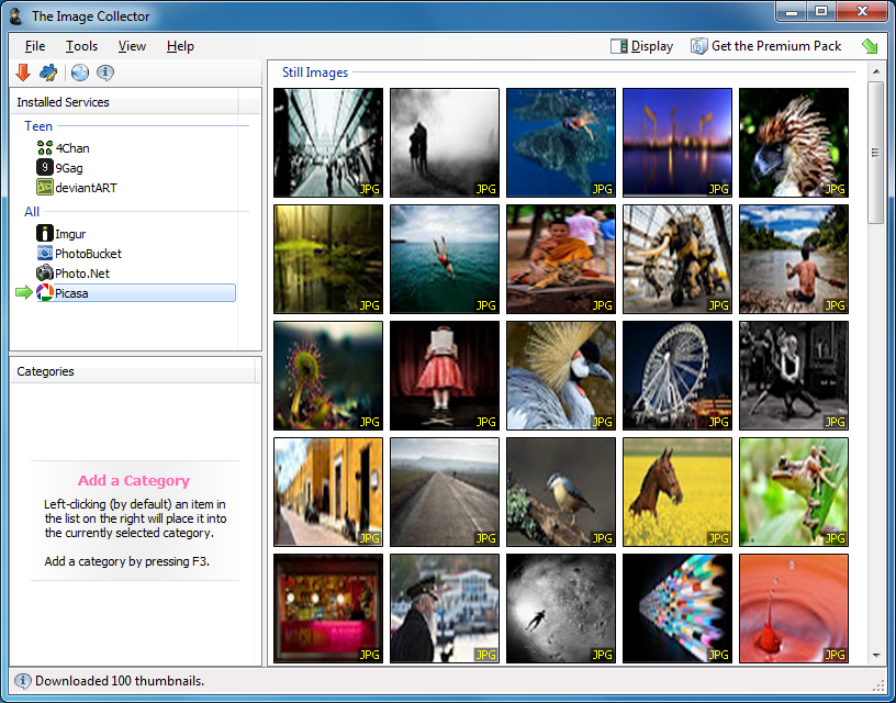 The Image Collector 1.16 free download - Software reviews, downloads