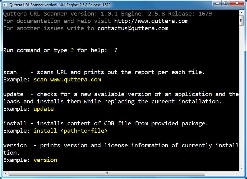 Quttera URL Scanner 1.0.1.1679 full