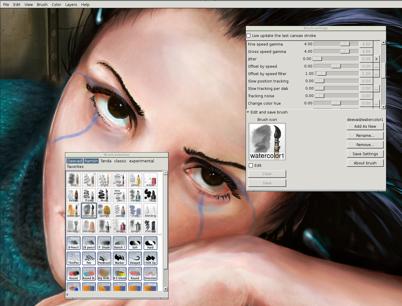 Mypaint 1 2 1 free download software reviews downloads for Painting programs free download