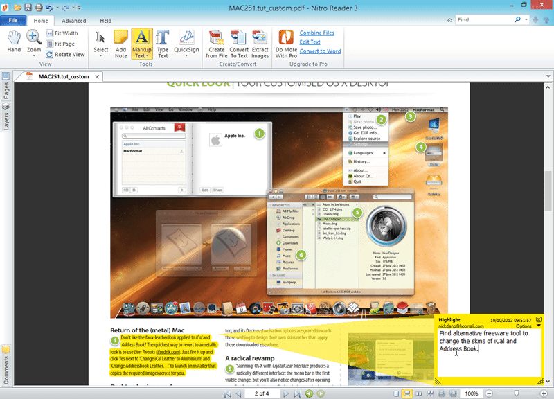 Freeware nitro pdf professional