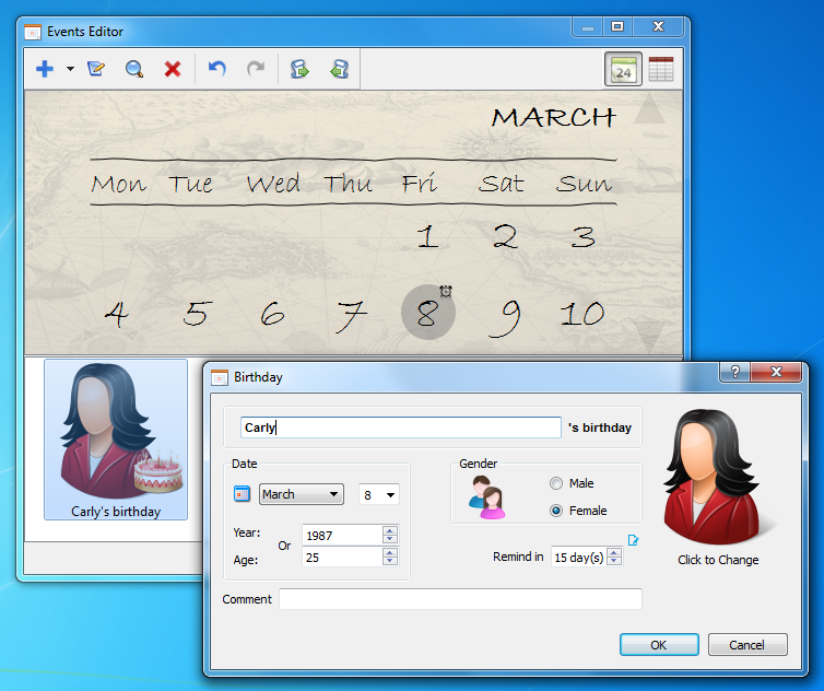 Desktop task reminder architecture modern idea •.