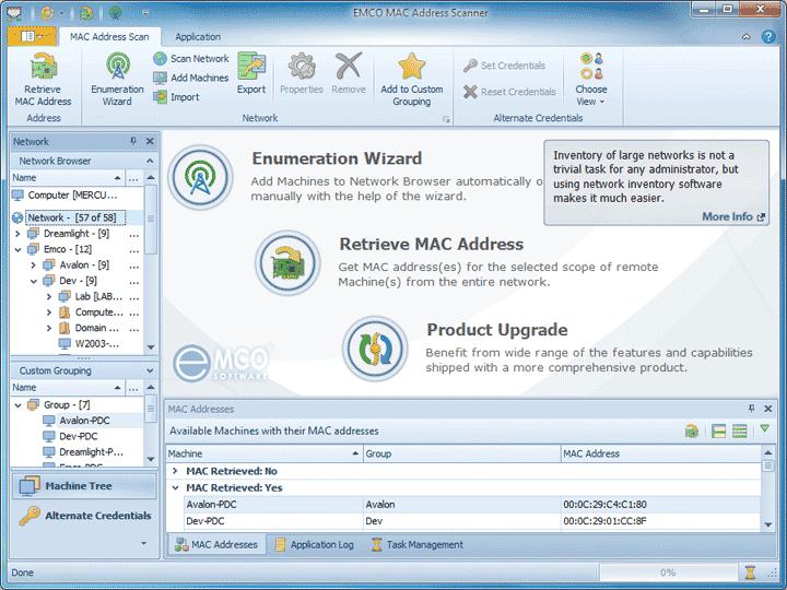 EMCO MAC Address Scanner 1 3 2 free download - Software reviews