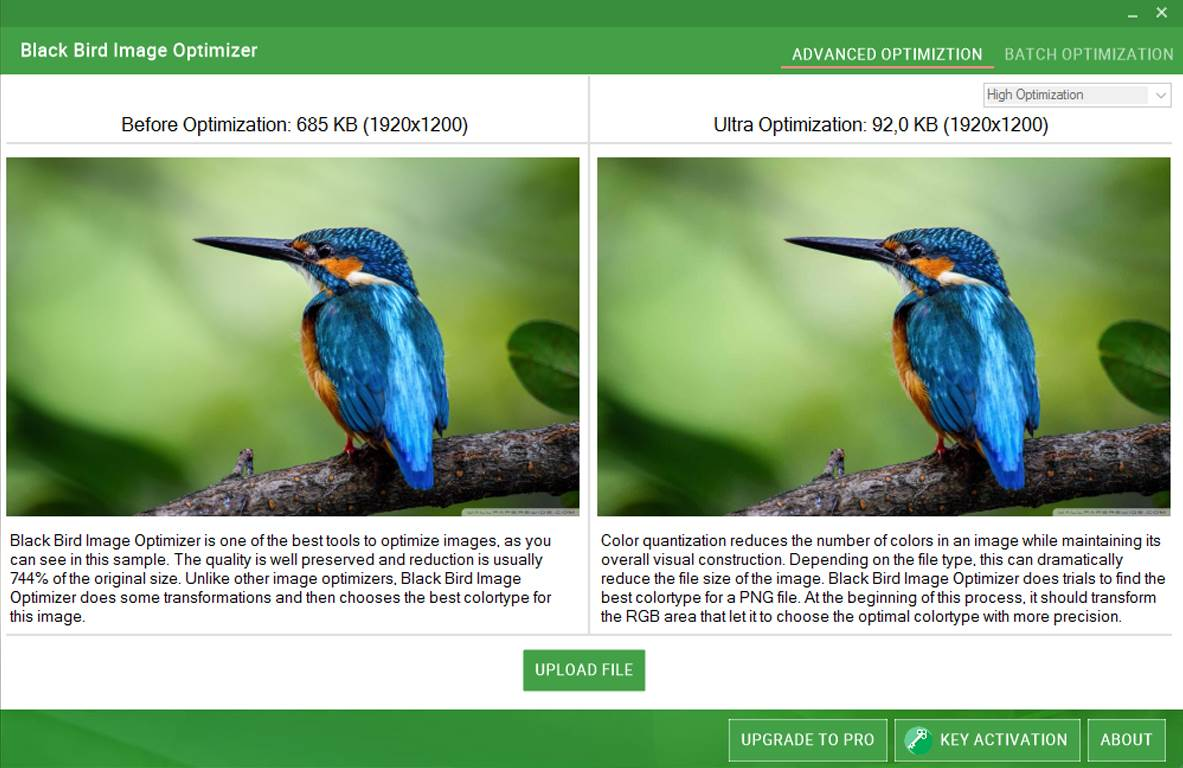Black Bird Image Optimizer 1.0.2.5 free download - Downloads ...