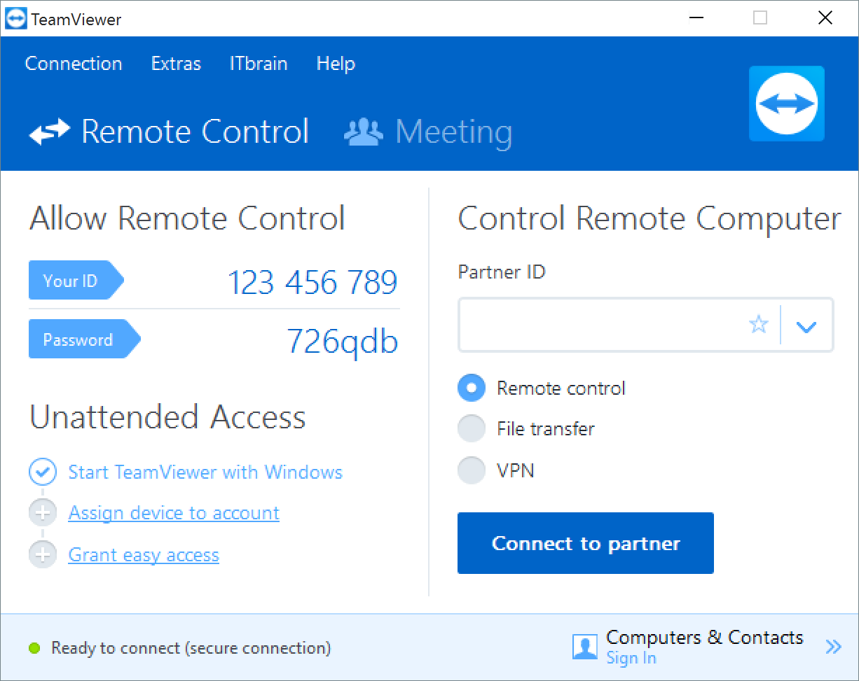 teamviewer 12 host download