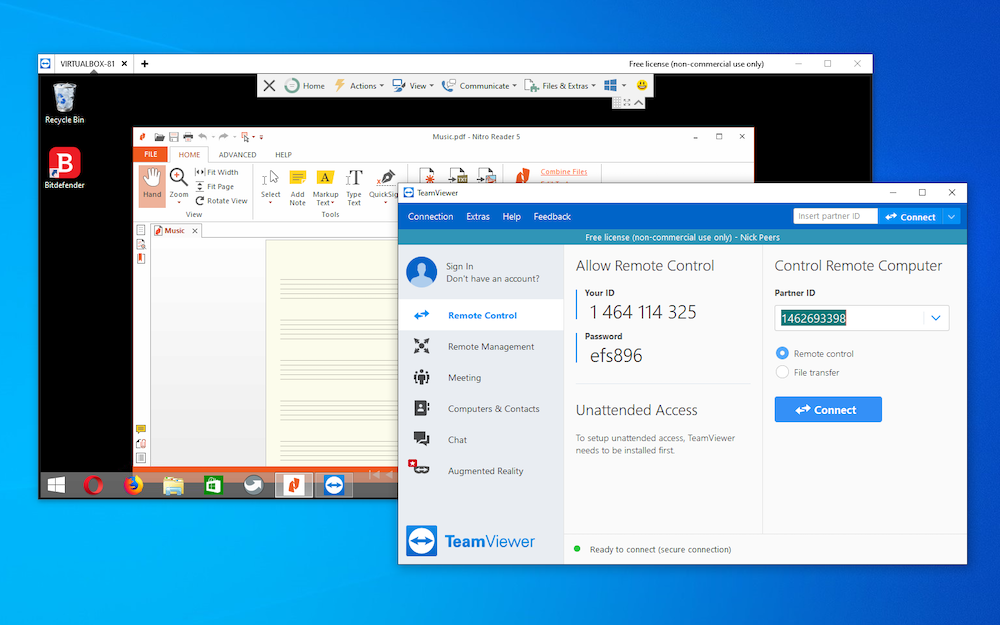 Teamviewer your partner uses a newer version of teamviewer