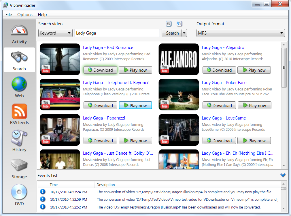 vdownloader para windows xp