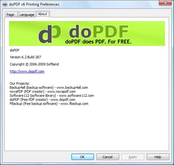 برنامج مجانى مميز لانشاء وتحويل الملفات النصية والوورد الى صيغة PDF بالشرح فيديو doPDF 7.3.391