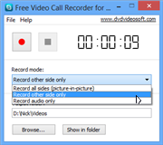 Free Video Call Recorder for Skype 1.2