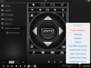 XBMC Remote 1.5.1 on iPad