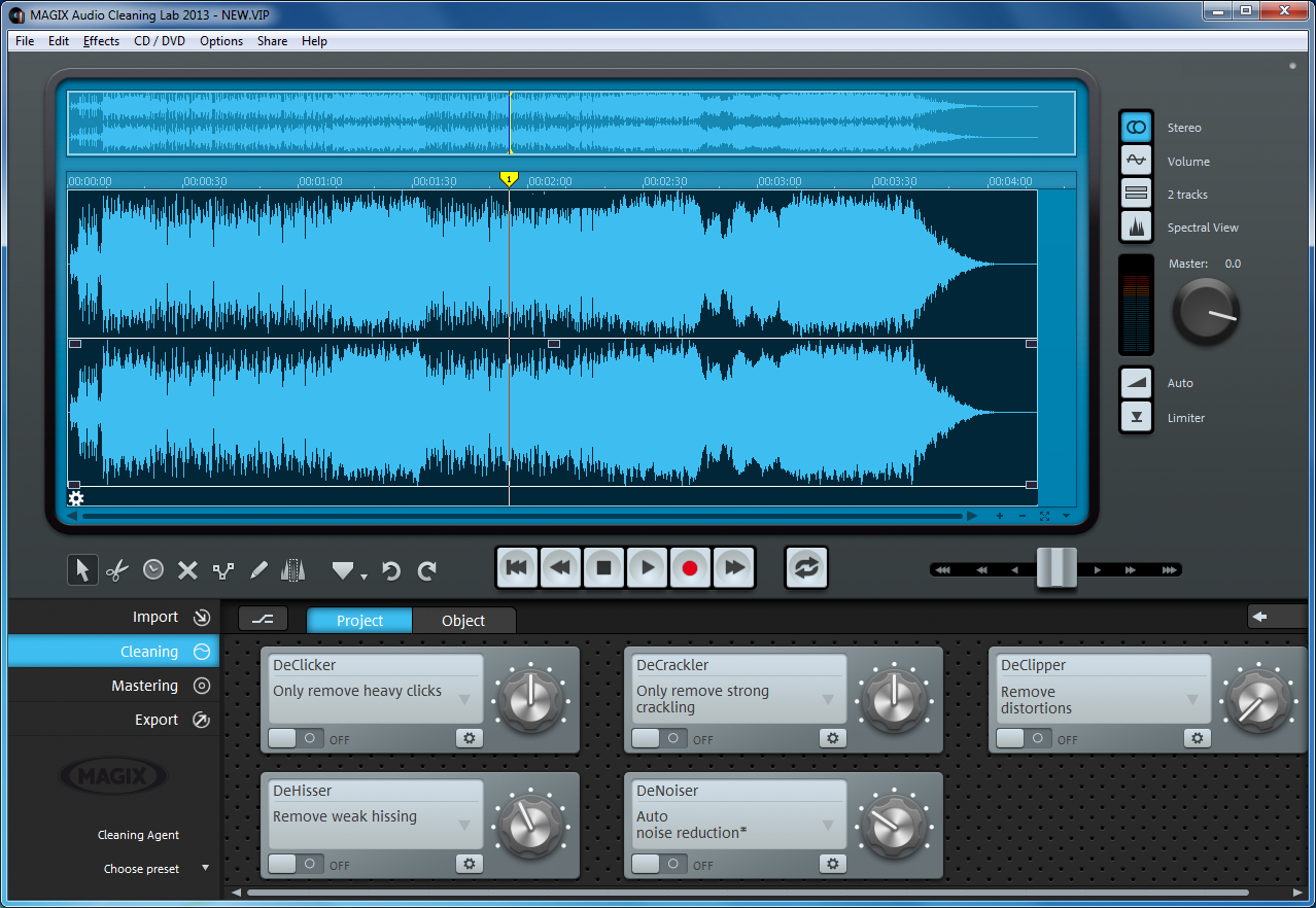 magix audio cleanic