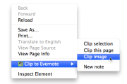 Evernote Web Clipper for Chrome