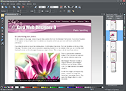 Xara Web Designer 9
