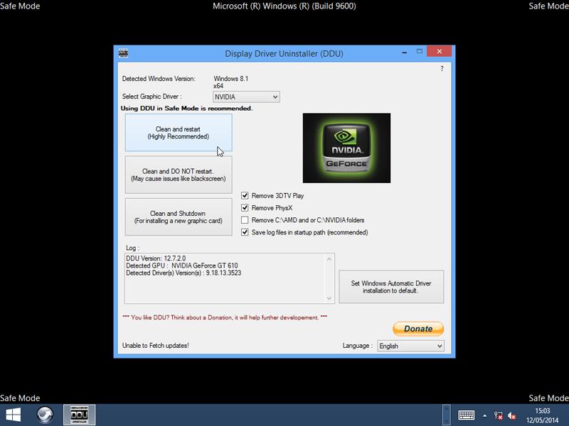 Display Driver Uninstaller 18 0 1 8 free download - Software