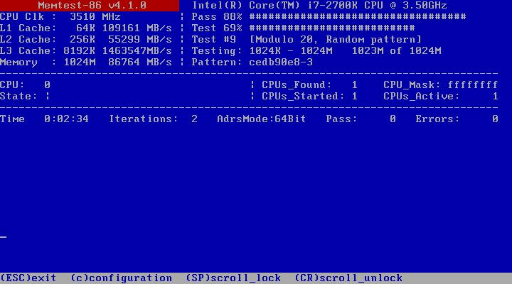 memtest86 windows 7