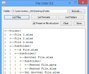 FileLister 0.2