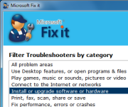 Microsoft Fix it Portable
