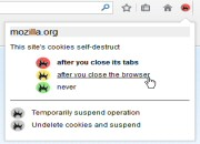Self-Destructing Cookies for Firefox 0.4.6
