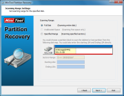 MiniTool Partition Recovery 5.0