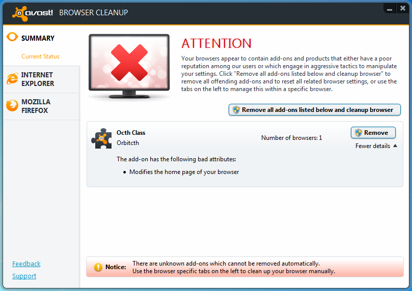Free download of avast browser cleanup tool.