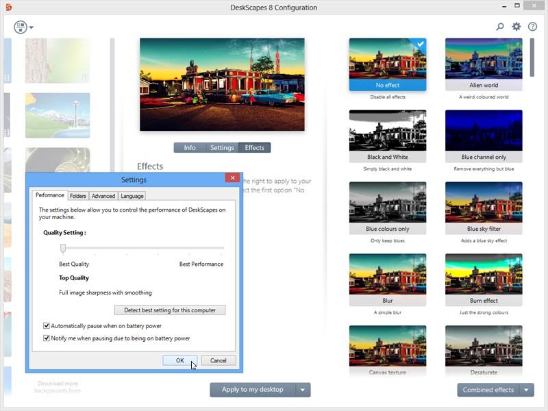 Stardock DeskScapes 8.00 free download - Software reviews ...