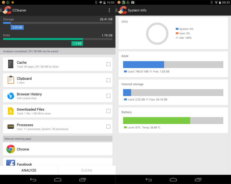 how to clear cookies on android tablet