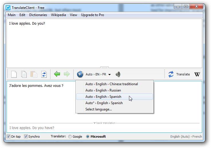 Translit download windows 7