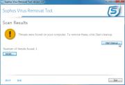 Sophos Virus Removal Tool