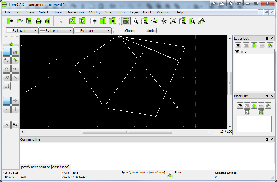 LibreCAD Portable 2.1.3 free download - Software reviews, downloads ...