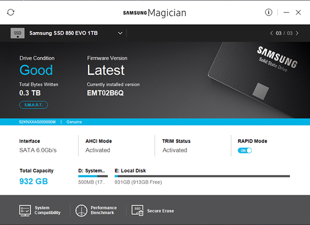 Samsung SSD Magician Tool 5 3 free download - Download the