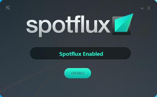 تحميل برنامج Spotflux 2.9.8 لتشفير الاتصال بالانترنت وإخفاء ال IP وحمايتك من البرامج الضارة