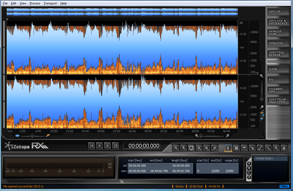 Izotope Rx 5 Free Download Software Reviews Downloads News Audio Signal Generator Freeware Clean Up And Repair Just About Any File In A Few Clicks