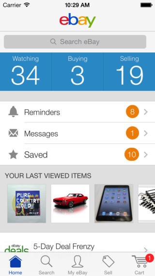 eBay for iPhone 5 24 free download - Downloads - freeware