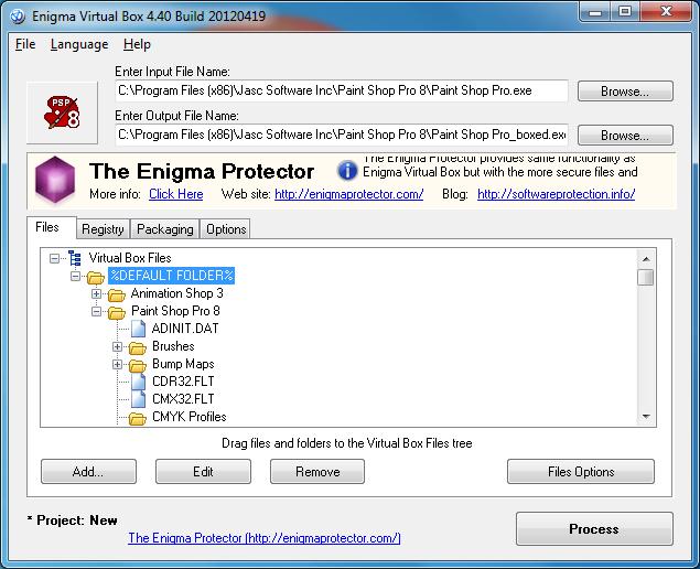 enigma virtual box tutorial