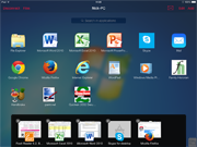 Parallels Access on iPad