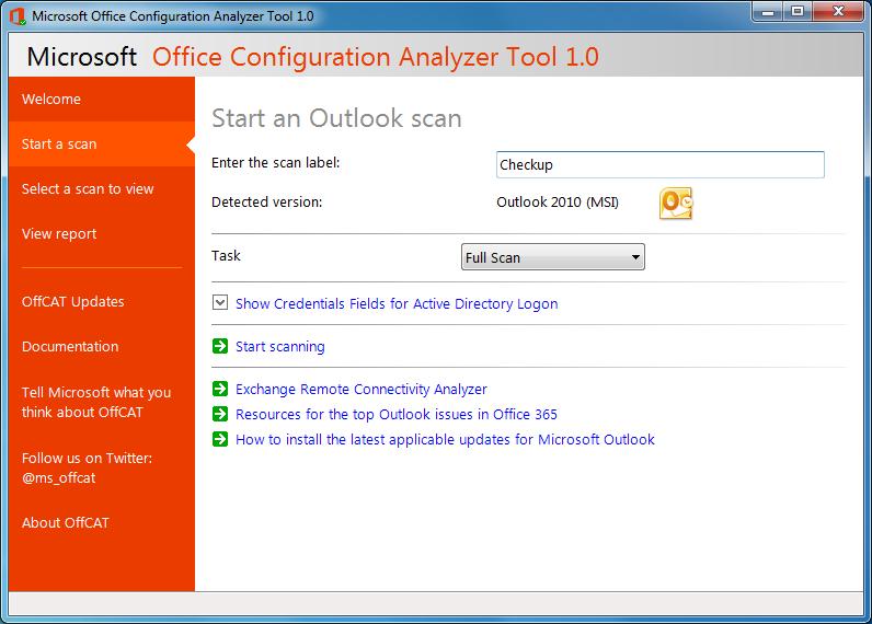 Office Configuration Analyzer Tool 1.0 اداة مجلنية للكشف عن جميع المشاكل المتعلقة ببرامج الاوفيس وطريقة حلها